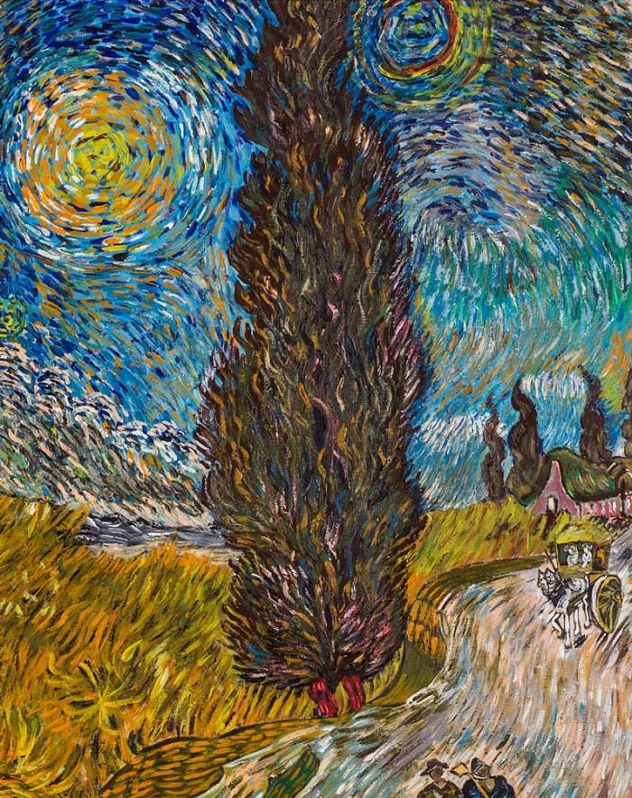 I cipressi - Van Gogh